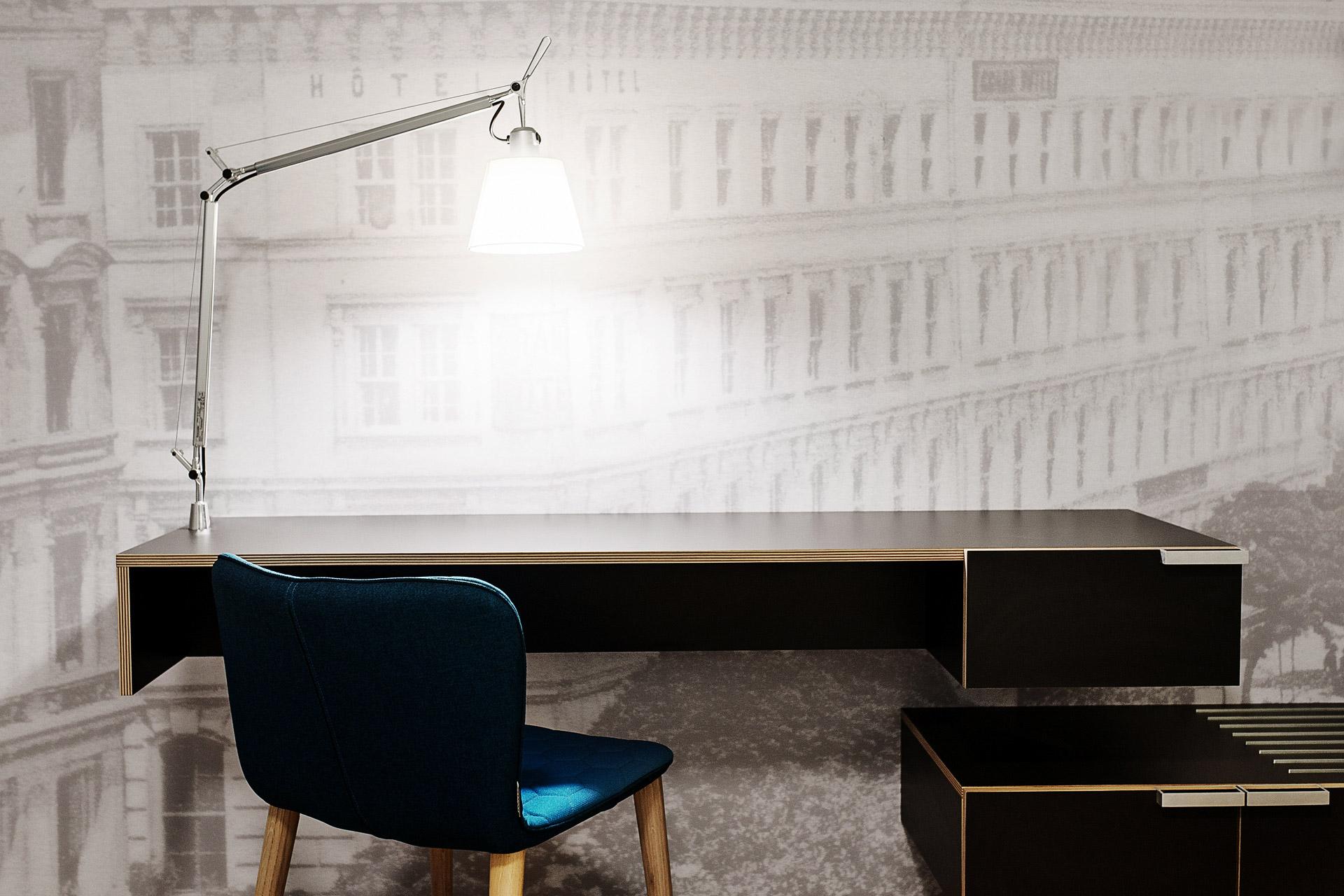 Architektura - interiér, ložnice